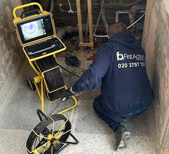 CCTV drainage surveys carried out in Harlow