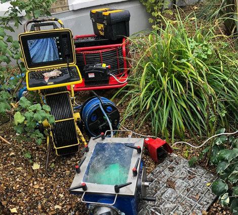 Brentwood CCTV drain survey company